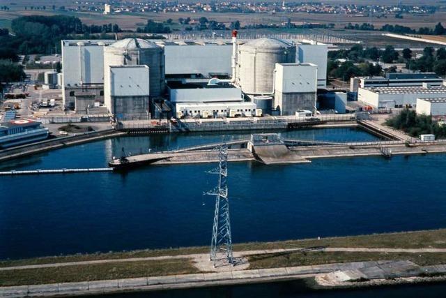Das Atomkraftwerk Fessenheim war von Anfang an von Protesten begleitet
