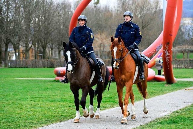 Wer räumt eigentlich hinter Freiburgs Reiterstaffel auf?