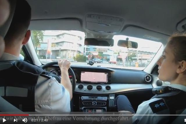 Youtube-Videos sollen Polizeialltag zeigen – das Weiler Revier macht den Anfang