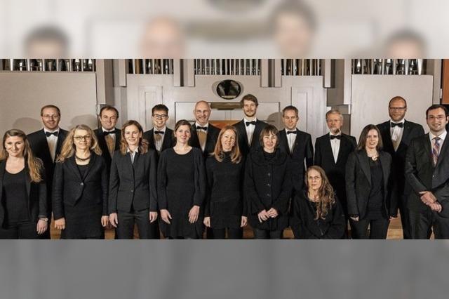 Adventskonzerte mit dem Herdermer Vokalensemble in Freiburg und Emmendingen
