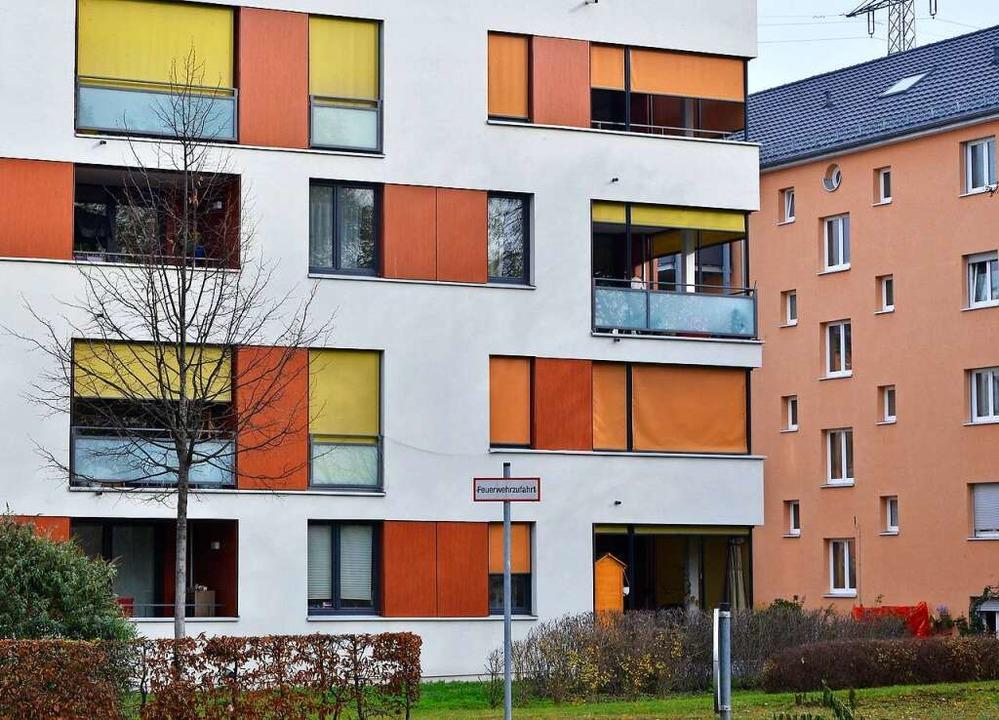 Baugebiet der Stadtbau in Freiburg-Haslach  | Foto: Michael Bamberger