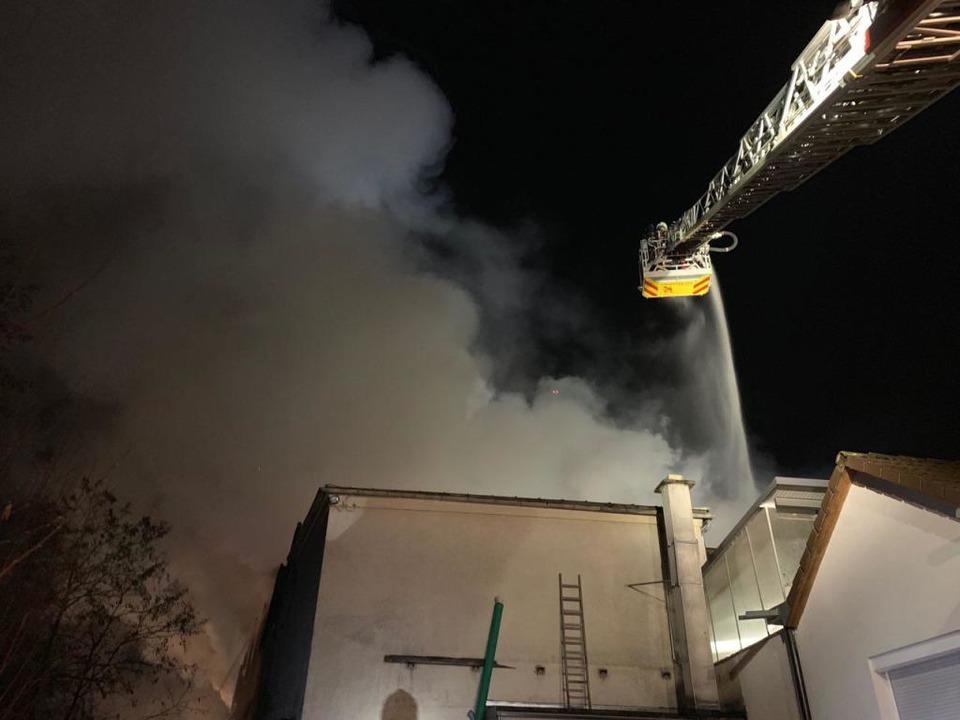Großeinsatz für die Retter in Wehr  | Foto: Feuerwehr Bad Säckingen