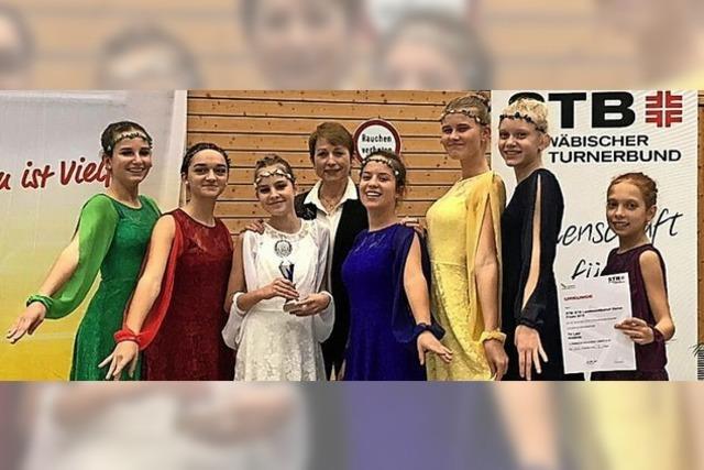 Tanzgruppe Andante ist Vizemeister