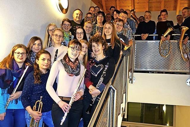 Musikverein stimmt auf die Adventszeit ein