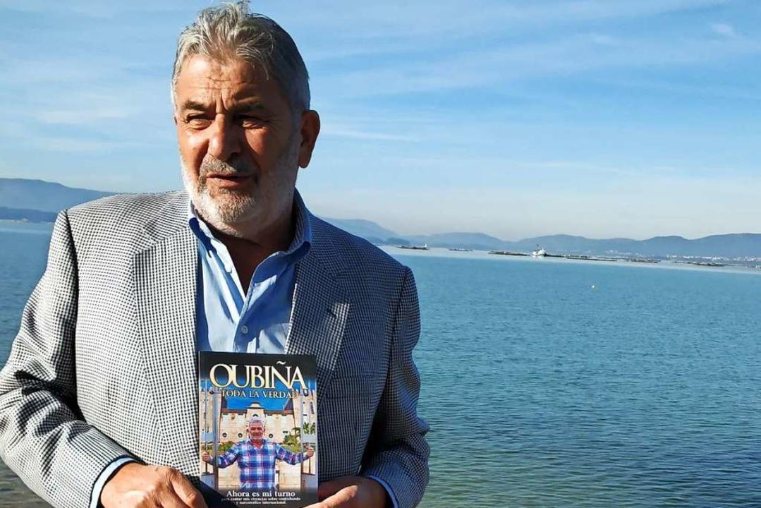 Laureano Oubiña präsentiert sein Buch,... Lebens verbrachte er  hinter Gittern.  | Foto: Dahms