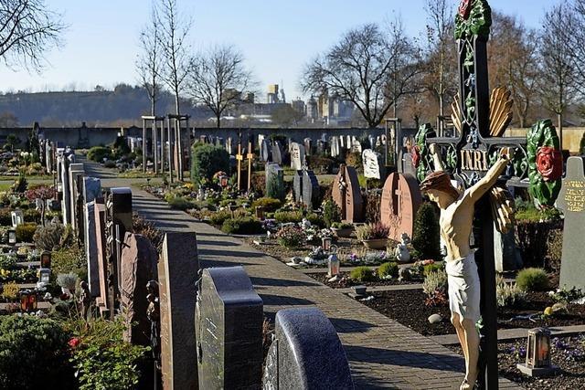 Der Merdinger Friedhof verändert sich