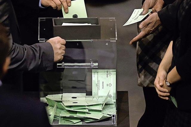 Der Bundestag lässt die AfD-Kandidatin durchfallen