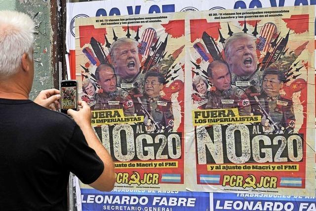 Brüskiert Trump auch die G 20?