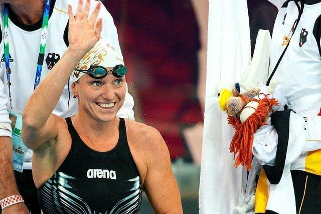 Wie eine mehrfache Schwimmweltmeisterin mit ihrer Querschnittslähmung umgeht