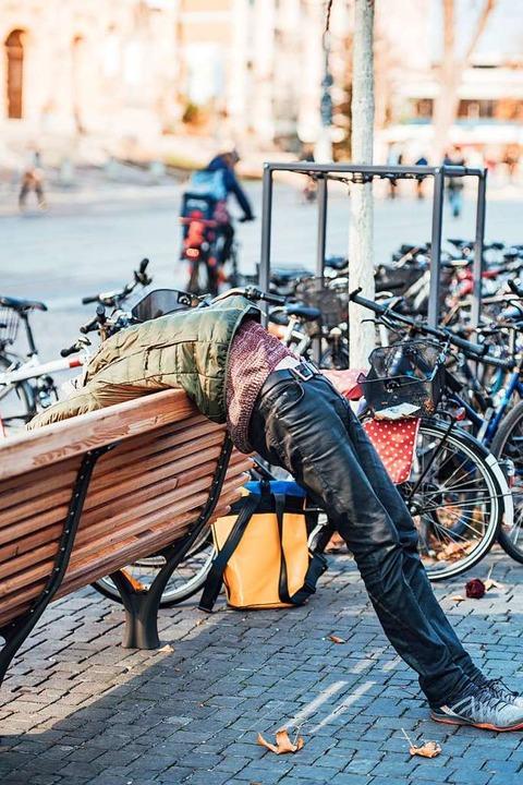 Was machst Du da? Yoga!  | Foto: Fabio Smitka