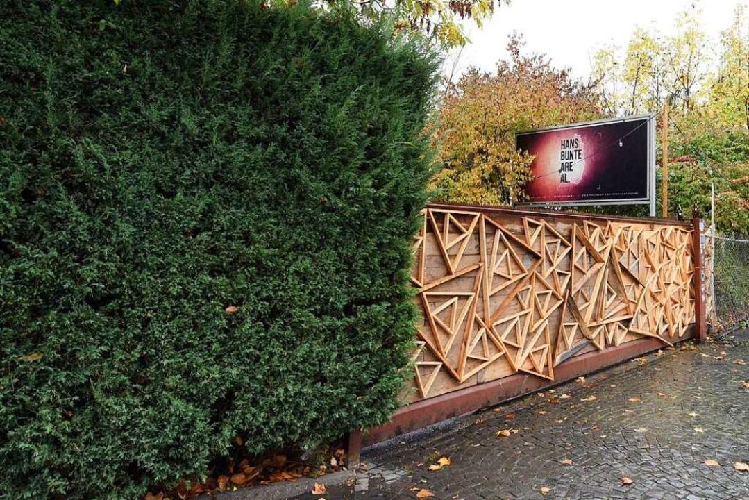 Der Tatort ist unweit der Disko &#8222...ße im Freiburger Industriegebiet-Nord.  | Foto: Rita Eggstein