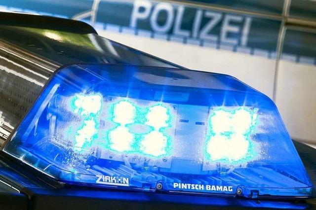 Radler bedroht Fußgänger in Schopfheim-Fahrnau