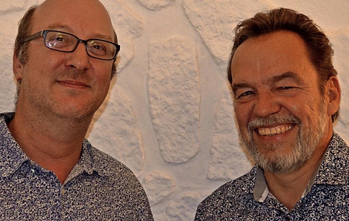 Peter Fürle (rechts) ist der neue stel...zer für den Vorstand gewonnen werden.     Foto: C. Sahli
