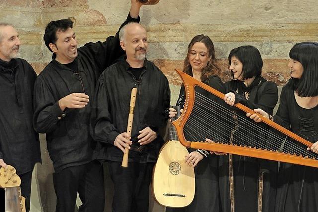 Ensemble Spielleyt zu Gast in Sulzburg