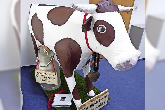 Warum die Kuh im Büro steht
