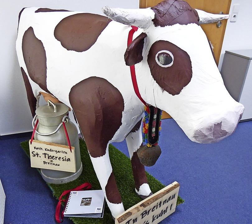 Aus dem kuhlen Breitnau kommt Kuh Theresia.   | Foto: Stellmach