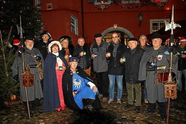 Der Vogtsburger Weihnachtsmarkt ist eröffnet