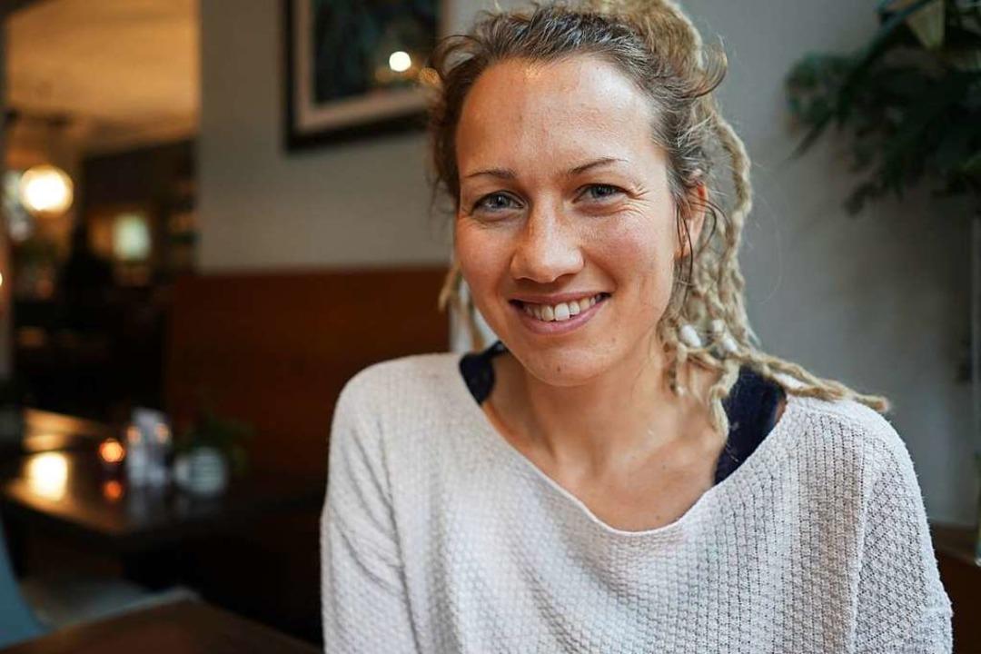 Franziska Borkel lebt trotz ihrer HIV-Infektion ein ganz normales Leben.  | Foto: dpa