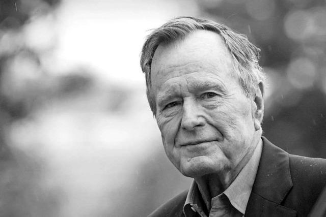 Ex-Präsident George H. W. Bush stirbt im Alter von 94 Jahren
