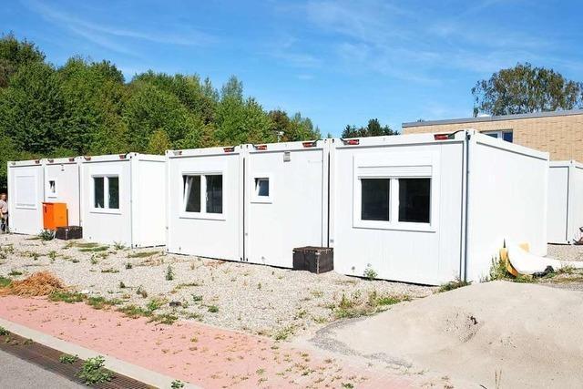 Container und feste Unterkünfte für Obdachlose kosten in Heitersheim nun gleich viel