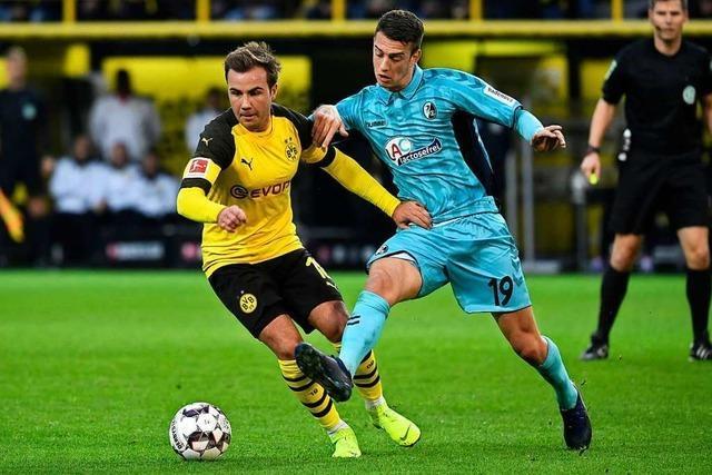 Disziplinierte Abwehrarbeit reicht dem SC Freiburg in Dortmund nicht