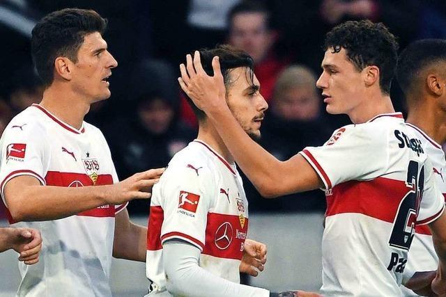 VfB Stuttgart gewinnt dank Donis-Treffer mit 1:0 gegen Augsburg