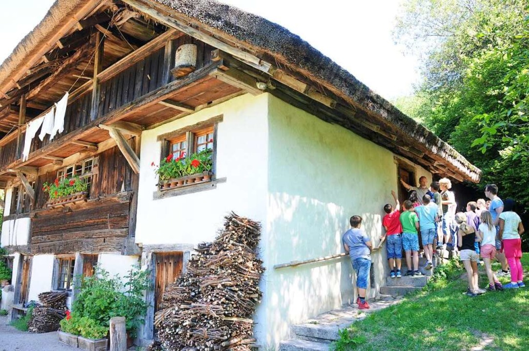 Der Schneiderhof in Kirchhausen wird d...e Bauernhausmuseum wunderbar geeignet.    Foto: Robert Bergmann