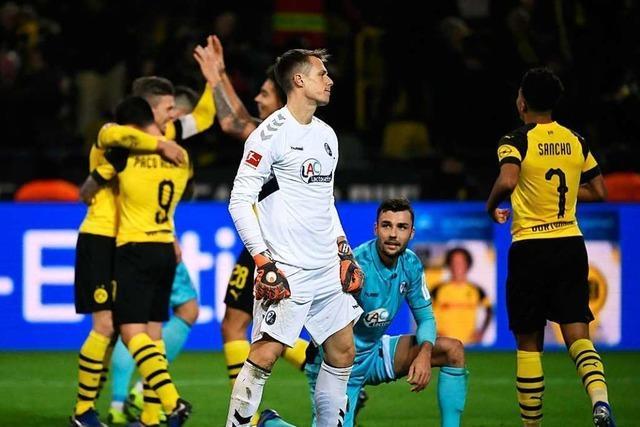 Auch Schwolows sensationelle Parade reicht nicht zum Punktgewinn in Dortmund