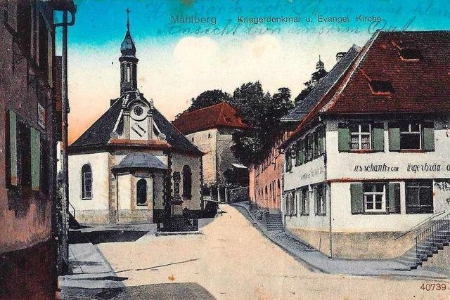 Alte Ansichtskarten aus Mahlberg aus dem 20. Jahrhundert