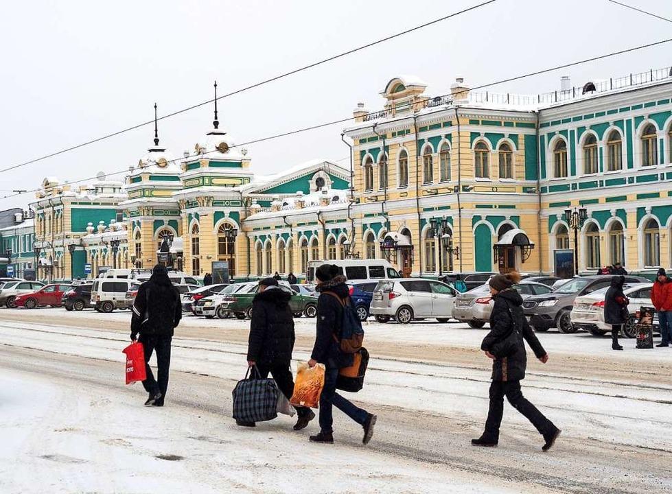 Nächster Halt: Irkutsk.  | Foto: dpa-tmn