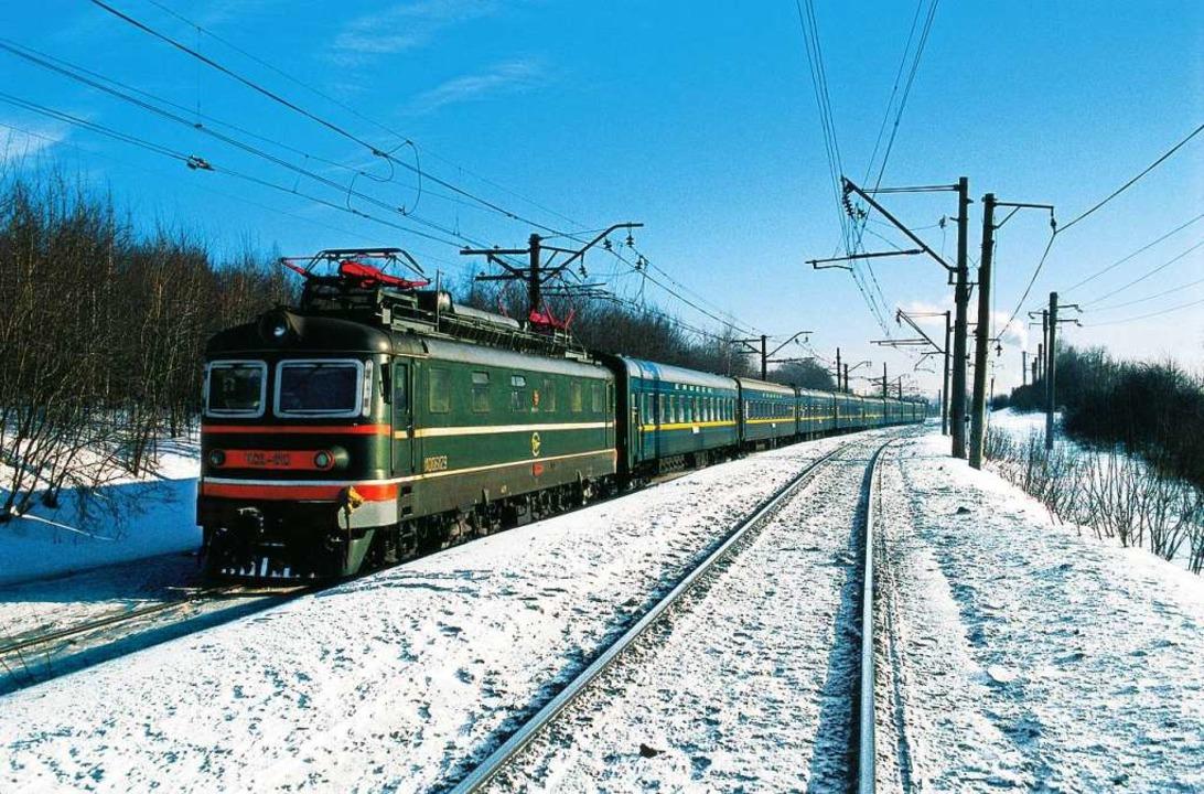 Eine Reise mit der transsibirischen Eisenbahn quer durch Russland.  | Foto: dpa-tmn