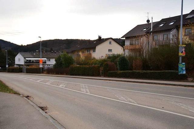 Bahnhofstraße in Kandern ab Montag voll gesperrt