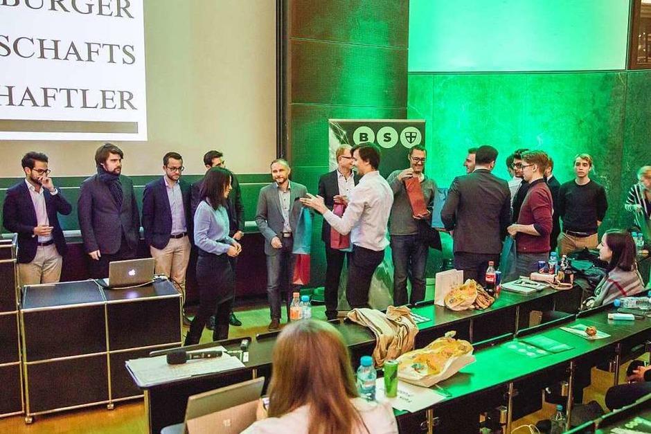 Fotos So War Das Erste Blockchain Symposium An Der Uni Freiburg