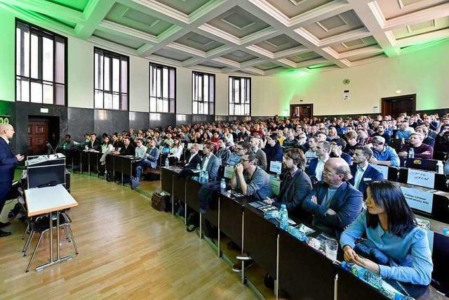 Das erste Blockchain-Symposium in Freiburg war gut besucht