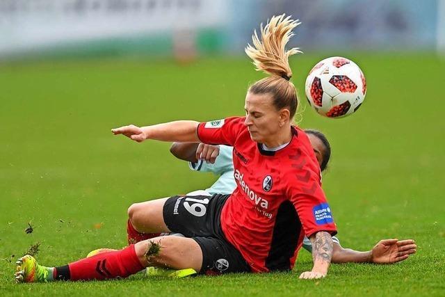SC-Frauen geben alles und unterliegen Bayern München erst in den Schlusssekunden 1:2