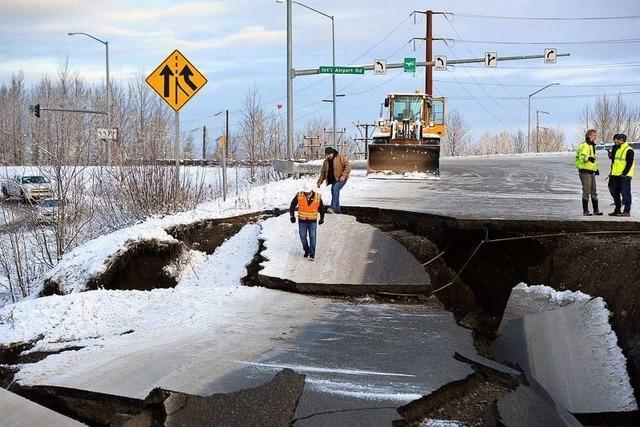 Starkes Erdbeben erschüttert Süden Alaskas