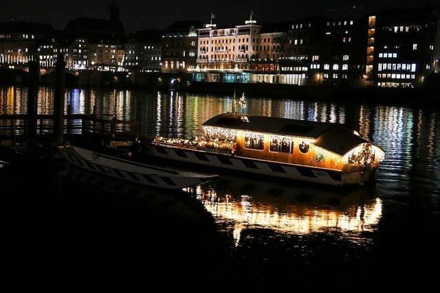 In Basel strahlt zur Weihnachtszeit alles ein wenig heller
