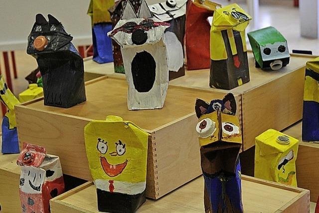 Tiefer Blick ins kreative Schaffen der Schule