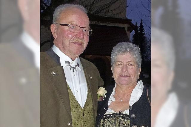 Seit 50 Jahren ein Ehepaar