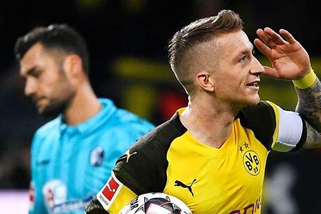 Ziemlich gestresst: SC muss in Dortmund zu intensiv verteidigen