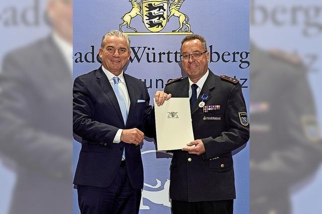 Ehrenzeichen für Rotzinger