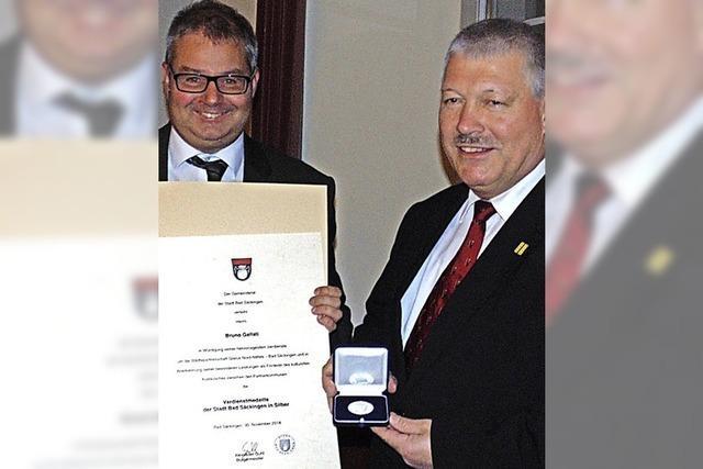 Medaille für Verdiente um Partnerschaft