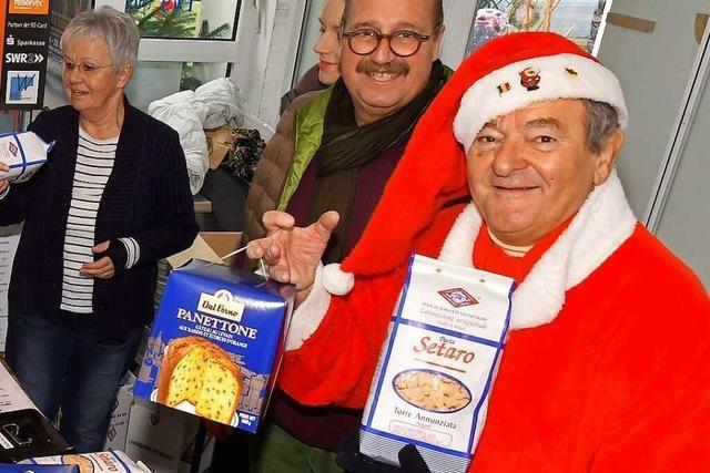 Oscar Guidone verkauft in drei Stunden 500 Kilogramm Nudeln