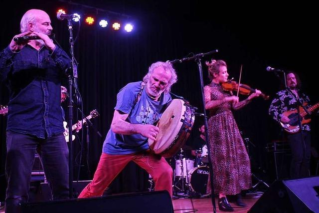 Kila in der Stadthalle Schopfheim: Musikalische Urgewalt auf Gälisch