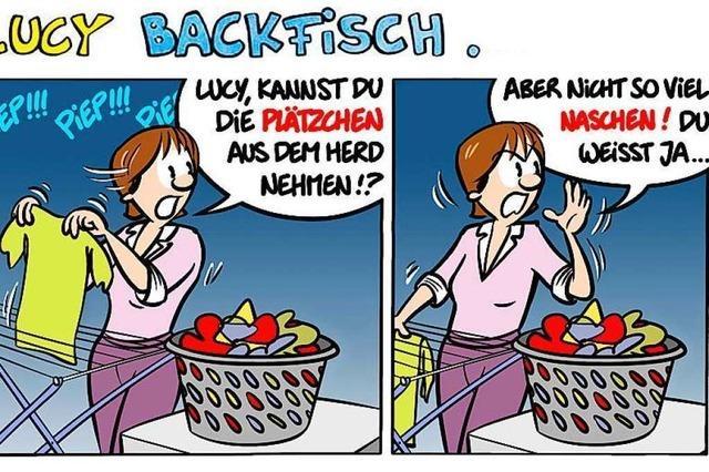 Lucy Backfisch: Essen bis einer platzt