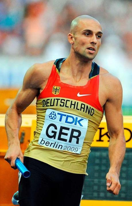 2009 startete Ruwen Faller ein letztes...hletik-WM in Berlin im Olympiastadion.  | Foto: dpa
