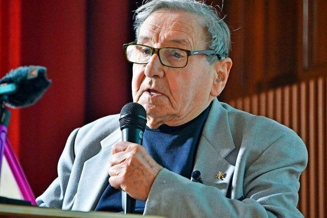 Werner Reich kam 85 Jahre nach seiner Flucht zum ersten Mal wieder nach Deutschland
