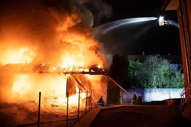 Brandstiftung war Ursache für Feuer in Müllheimer Supermarkt