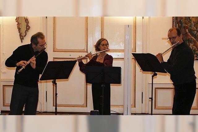 Meisterhafte Flötentöne
