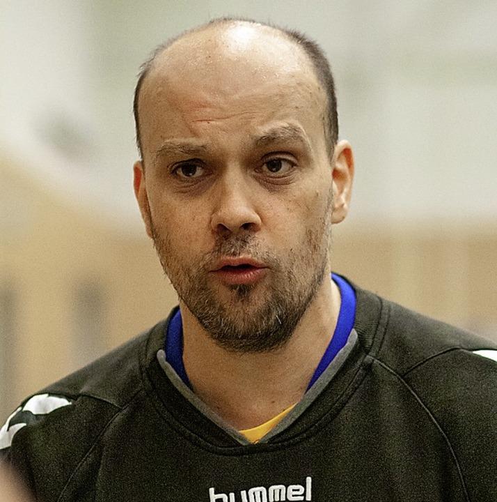 ETSV-Coach Werner Echle bei einer Auszeit.  | Foto: Alexandra Buss